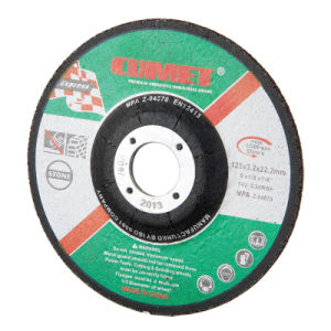 Depressed Center Cutting Disc for Stone (125X3.2X22.2) Abrasive with MPa Certificates pictures & photos