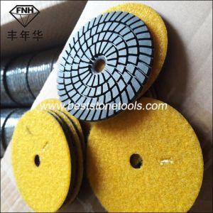 Hand Power Concrete Stone Machine Diamond Grinding Polishing Pad pictures & photos