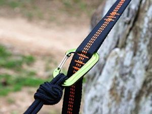 Carries Tree Swing Straps with Carabiners Non-Stretch Hammock Straps pictures & photos