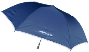 Auto Open 2-Fold Golf Umbrella Advertising Umbrella (75G216)
