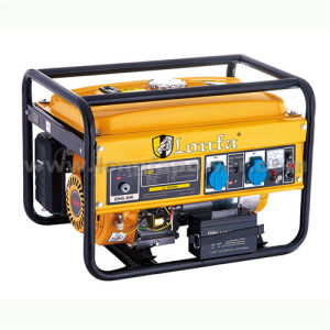 3kVA Lonfa Portable Key Start Gasoline Generator with Battery pictures & photos