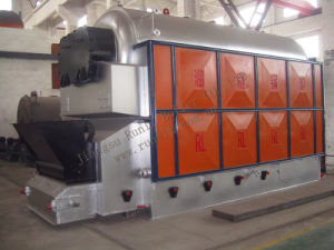 Coal Fired Steam Boiler with Chain Grate (DZL) pictures & photos