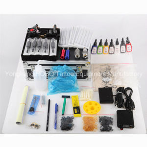 Complete Tattoo Kits Products with Machine Sets with Two Guns pictures & photos