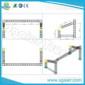 Aluminum Stage Truss Globla Truss F34 as Roof Truss for Event Truss pictures & photos