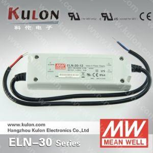 Mean Well Eln-30 5V 9V 12V 15V Constant Voltage Dimming LED Driver