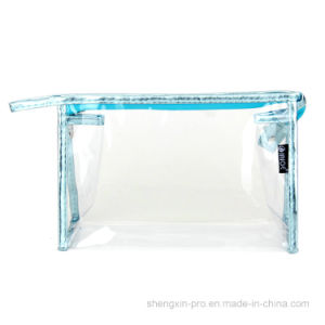 Waterproof PVC Cosmetic Bag Makeup Bag for Promotion pictures & photos