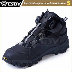 3-Colors Tactical Slip-Resistant Military Boots Outdoor Sports Shoes Hiking Sneaker pictures & photos