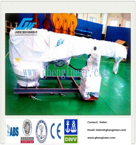 0.5ton Customized Yacht Crane with Built-in Power and Hydraulic Oil Cylinder pictures & photos