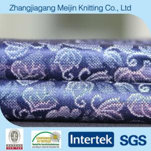 Warp Knitting Polyester Nylon Jacquard Lingerie Fabric (MJ5009)