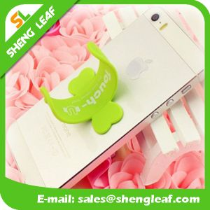 Fashionable OEM Lovely Rubber Phone Holder (SLF-SH001) Products pictures & photos