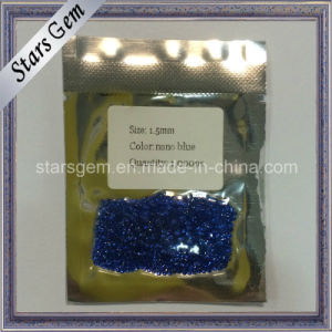 Small Size Nano Blue Gemstone in Wax Casting pictures & photos