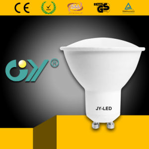Popular 6W GU10 MR16 Plastic Aluminum LED Spot Light pictures & photos