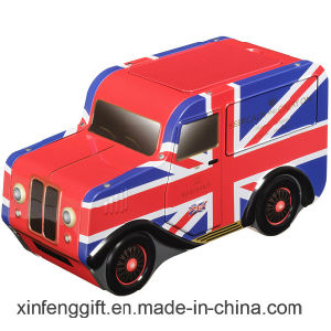 UK Style Car Shape Tea and Food and Gift Tin Box pictures & photos