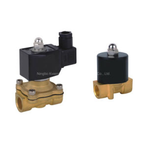 2/2 Way Normally Clsed Low Price Air Water 24V Solenoid Valve pictures & photos