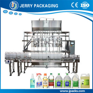 Automatic Water Juice Food Liquid Bottled Bottling Filling Machine pictures & photos