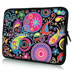 Good Quality Neoprene Notebook Sleeve with Zipper (SNLS05)