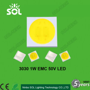 High Voltage 3030 SMD LED 1W EMC 48V-52V 130-156lm