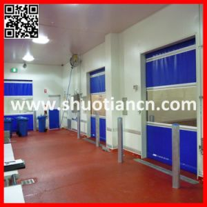 Guangzhou Automatic High Speed Sheet Rolling Shutter Door (ST-001) pictures & photos