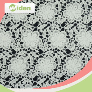 Free Sample Available Lovely Cotton Guipure Lace Fabric pictures & photos