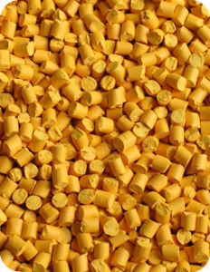 PE Based Yellow Color Masterbatch Y3217 for Blown Film/ Injection/ Extrusion pictures & photos