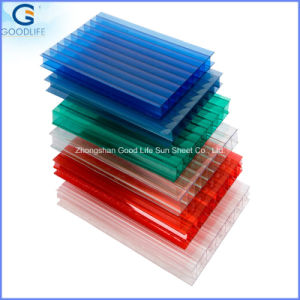 16mm Triplewall Polycarbonate Hollow Plastic Panel pictures & photos