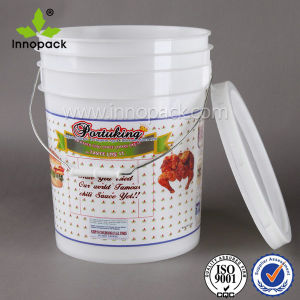 20L Airtight Watertight Plastic Pail Bucket with Tamper Proof Lid pictures & photos