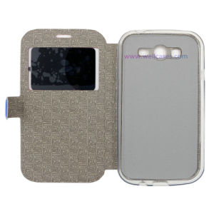 High-Quality Phone Accessories PU Magnetic Awake/Asleep Screen Flip Mobile Case/Cover pictures & photos