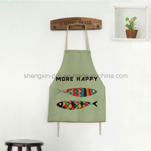 High Quality Canvas Apron with Long Strip for Adult