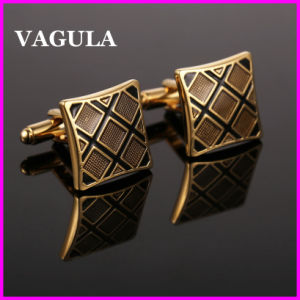 VAGULA Quality Brass Enamel Cuff Links (HL10128) pictures & photos