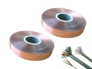 Conductive Mylar Pure Copper Foil Tape for Cable Wrapped pictures & photos