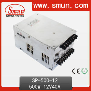 500W 12VDC AC-DC Switching Power Supply with Pfc pictures & photos