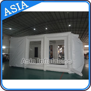Folding Spray Bake Inflatable Bus Paint Booth Used with Curtain pictures & photos