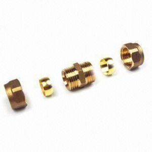 Brass Pipe Fittings CNC Precision Machining Metal Parts pictures & photos