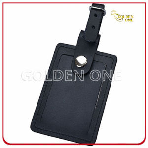 Promotion Gift Classic PU Leather Luggage Tag pictures & photos