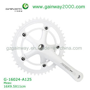 Gw-16024-A125 Bike Accessories of Chainwheel/White Bike Chainwheel