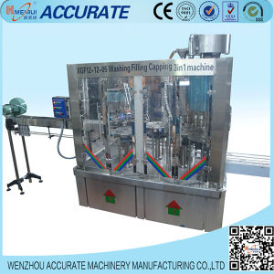 Automatic Washing Filling Capping Machine Liquid Conveyor (3 in 1) pictures & photos