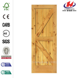 30 in. X 80 in. 2-Panel Prefinished Alder Door Slab pictures & photos