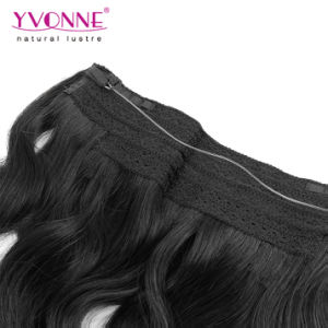 Remy Human Hair Brazilian Flip in Hair Extension pictures & photos