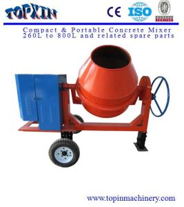 260L China Popular Diesel or Gasoline or Motor Engine Concrete Mixer pictures & photos