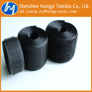 Cheap Polyester Sew on Hook & Loop Velcro Fasteners pictures & photos