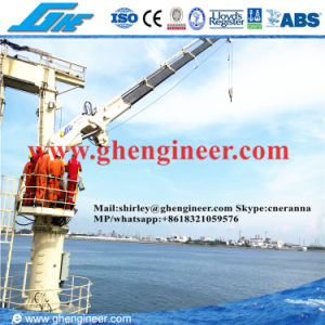 20t@15m Hydraulic Knuckle Boom Marine Deck Crane pictures & photos