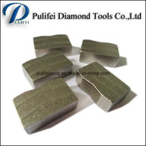 Stone Edge Cutting Diamond Blade Segment Granite Sandstone Marble Segment