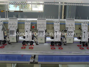 6 Heads Embroidery Machine Mixed with Cording Device (TL606+6) pictures & photos