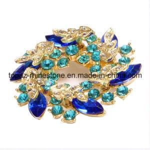 Ladies Fashion Jewelry Jewellery Rhinestone Brooch (TB003) pictures & photos