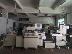 Paper / PVC Adhesive Sticker High Speed Label Die Cutting Machine