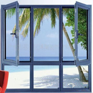 Powder Coating Quality Aluminium Casement Window with Cheap Price pictures & photos