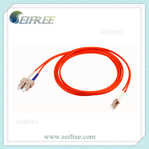 Multimode Fibre Optical Cable Patchcord LC Sc Duplex pictures & photos