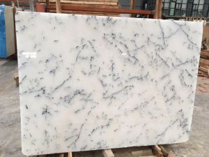 Imported Marble Crystal Snow Flake White Statuari pictures & photos