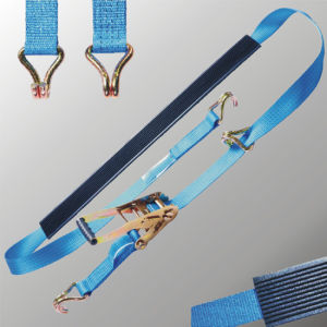 Car Lashing Straps, Ratchet Belt for Car Transportation pictures & photos