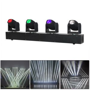 4 Heads Mini Stage LED Beam Disco Light pictures & photos